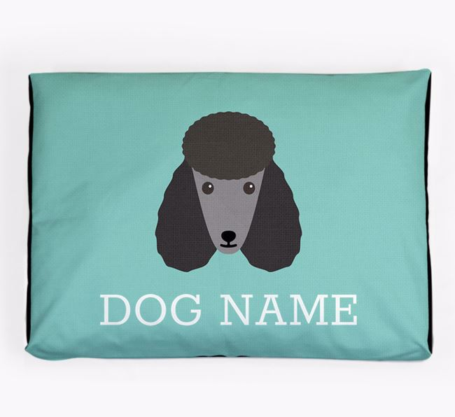 Personalised Icon Dog Bed for your Poodle