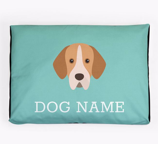 Personalised Icon Dog Bed for your Portuguese Pointer