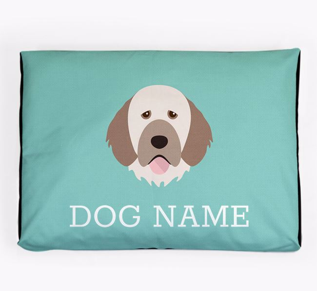 Personalised Icon Dog Bed for your Portuguese Water Dog