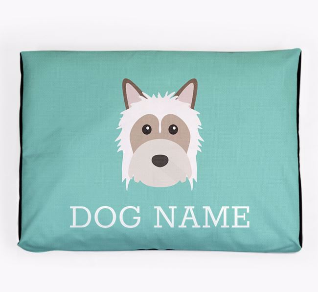 Personalised Icon Dog Bed for your Powderpuff Chinese Crested