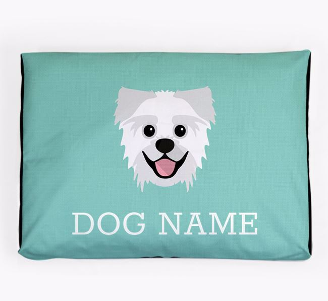 Personalised Icon Dog Bed for your Pugzu