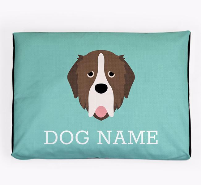 Personalised Icon Dog Bed for your Pyrenean Mastiff