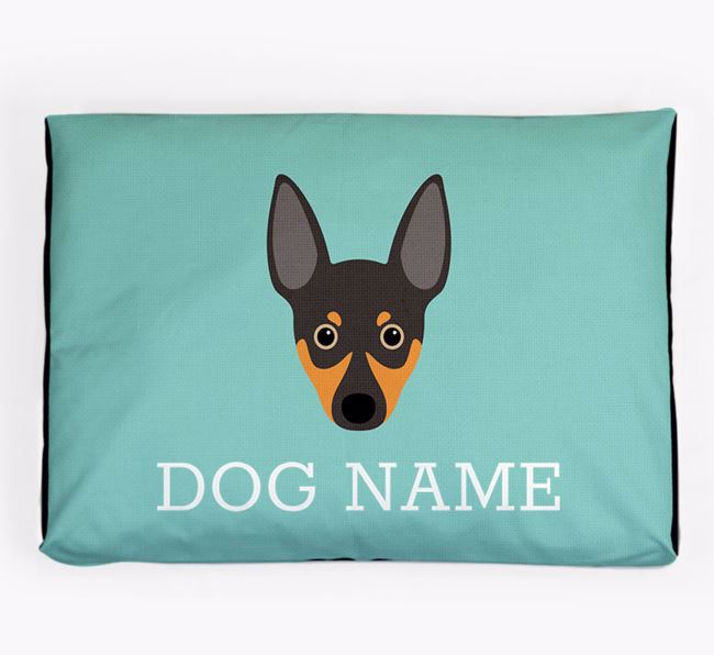 Personalised Icon Dog Bed for your Rat Terrier