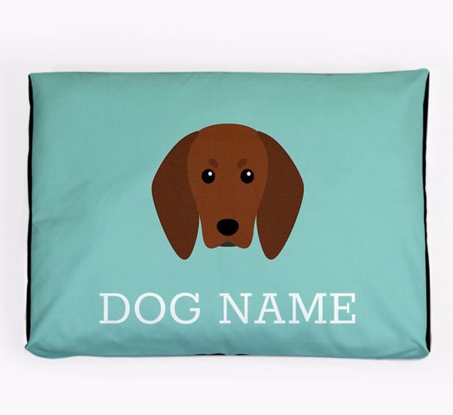Personalised Icon Dog Bed for your Redbone Coonhound
