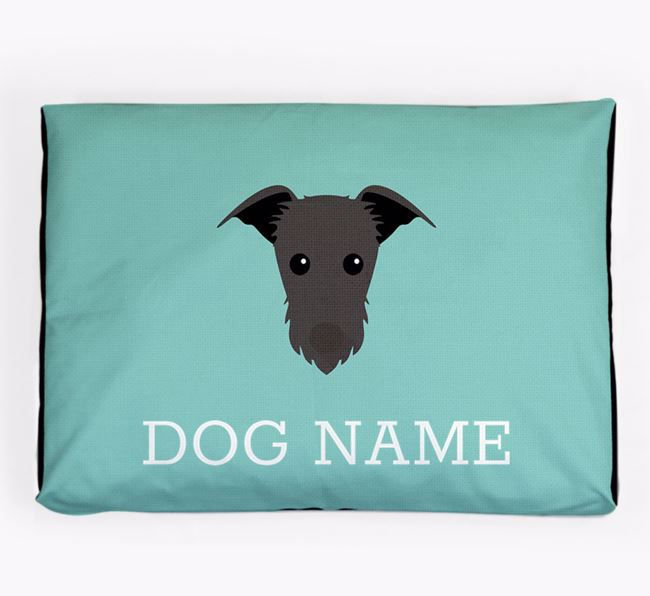 Personalised Icon Dog Bed for your Rescue Dog