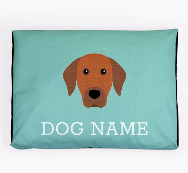 Personalised Icon Dog Bed for your Rhodesian Ridgeback