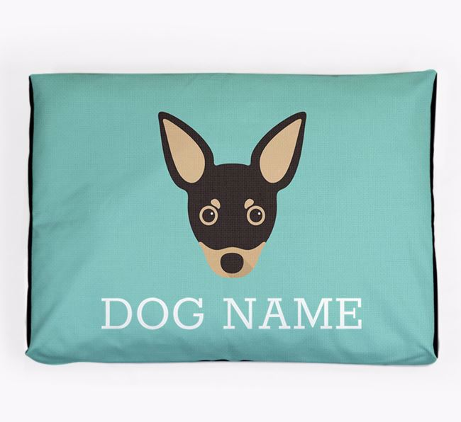Personalised Icon Dog Bed for your Russian Toy