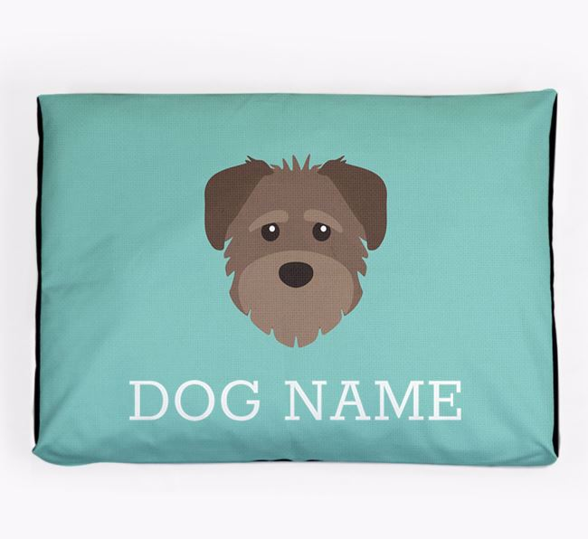 Personalised Icon Dog Bed for your Schnoodle