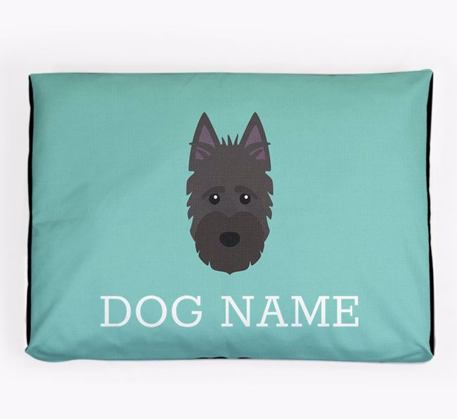 Personalised Icon Dog Bed for your Scottish Terrier