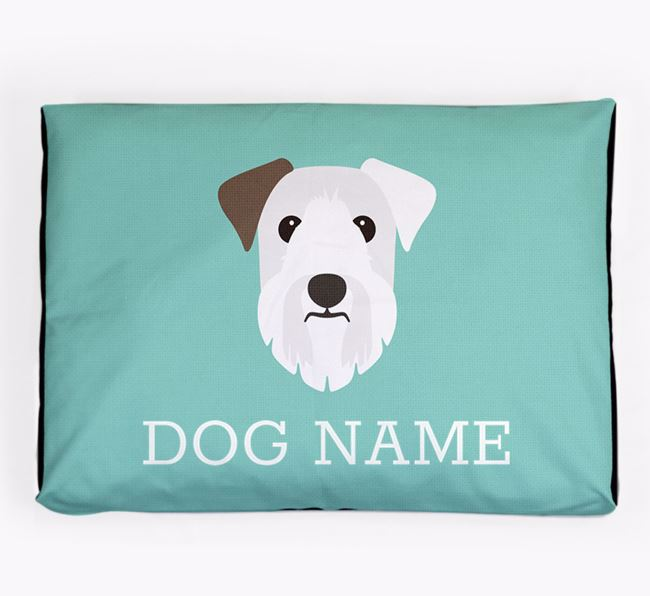 Personalised Icon Dog Bed for your Sealyham Terrier