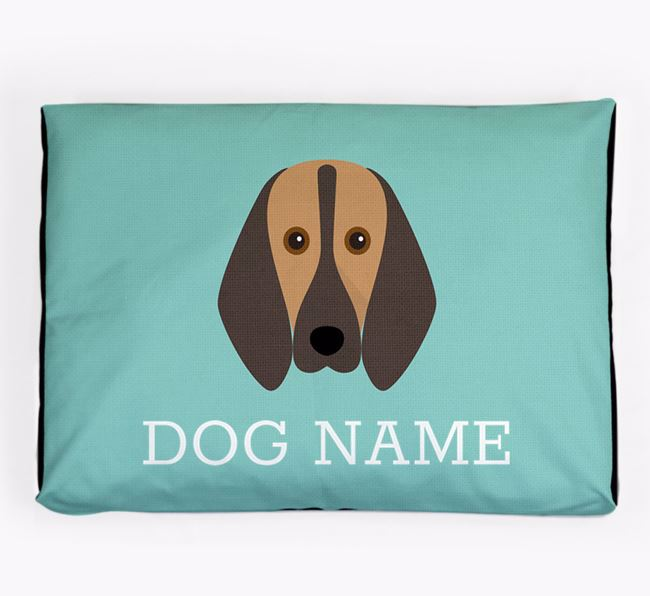 Personalised Icon Dog Bed for your Segugio Italiano