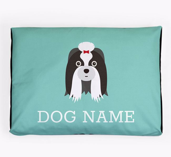 Personalised Icon Dog Bed for your Shih Tzu