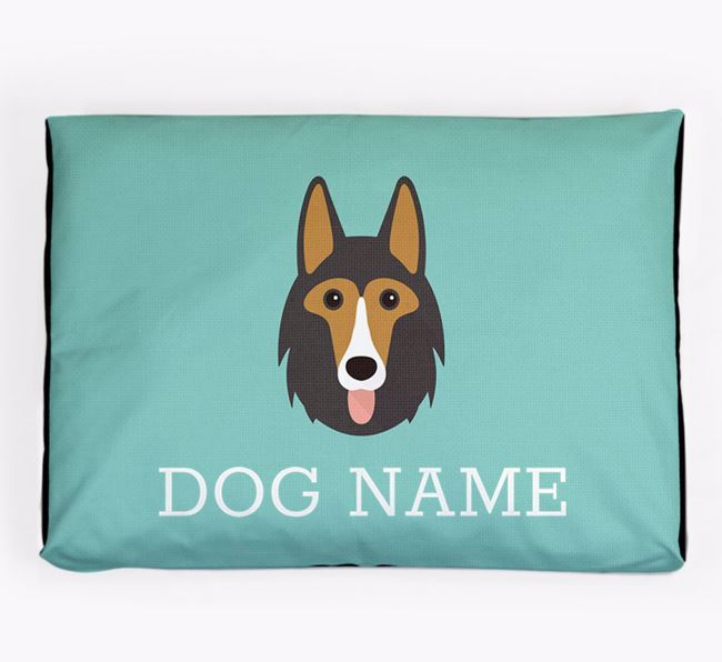 Personalised Icon Dog Bed for your Shollie
