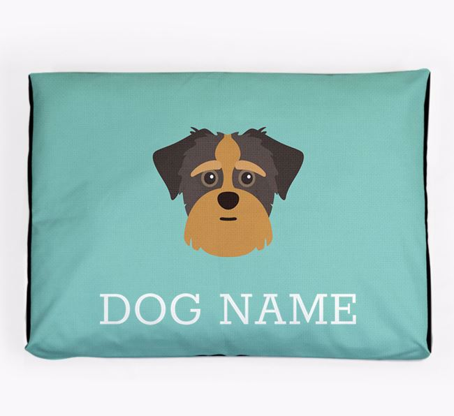 Personalised Icon Dog Bed for your Shorkie