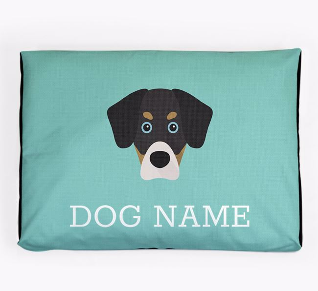 Personalised Icon Dog Bed for your Siberian Cocker