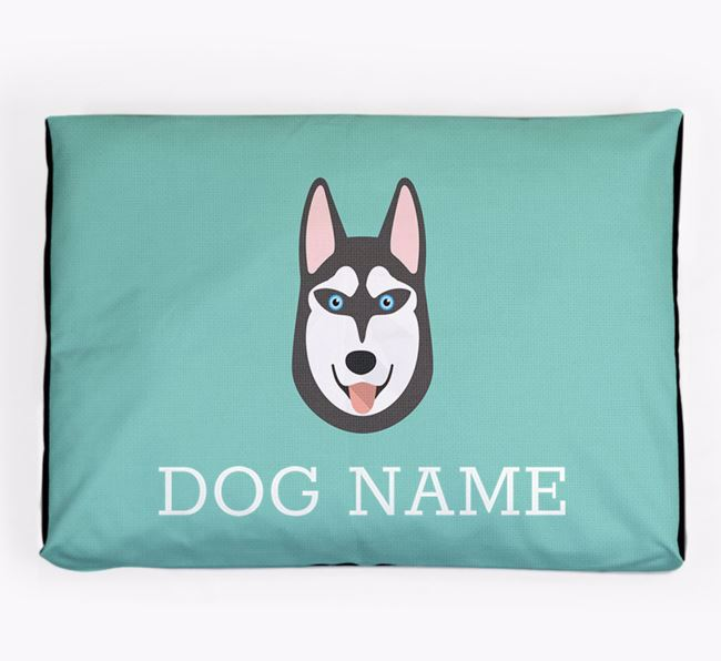 Personalised Icon Dog Bed for your Siberian Husky