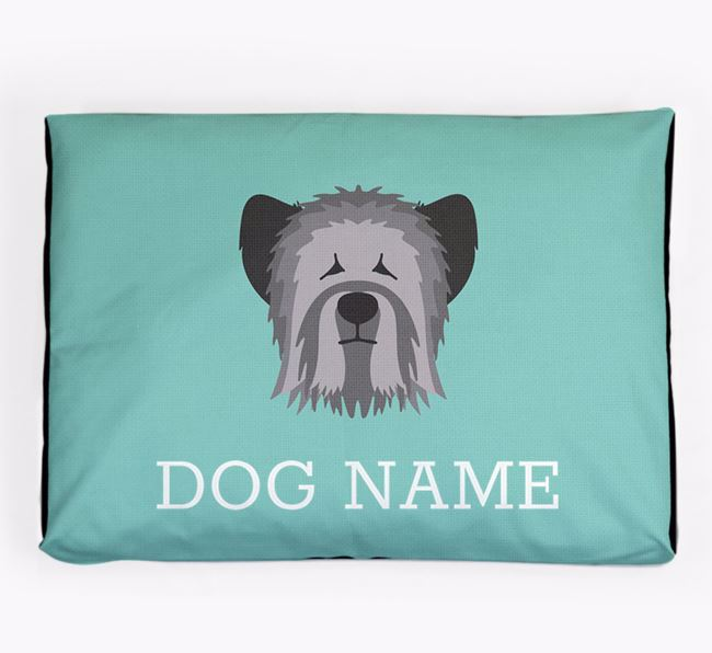 Personalised Icon Dog Bed for your Skye Terrier