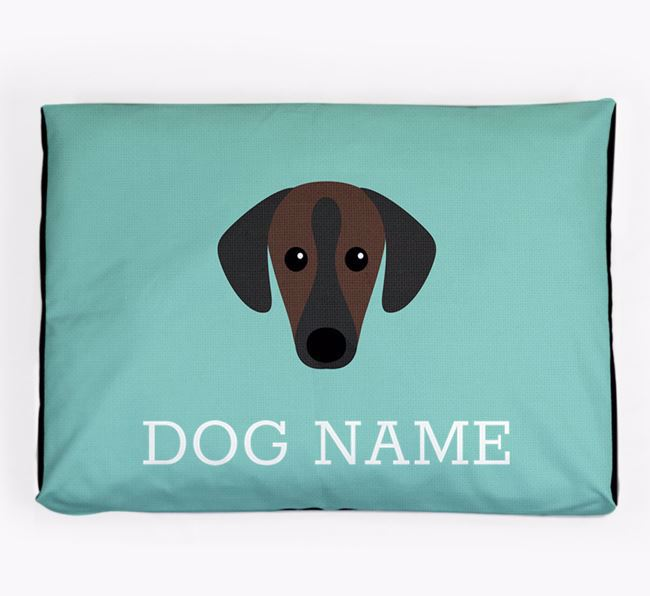 Personalised Icon Dog Bed for your Sloughi