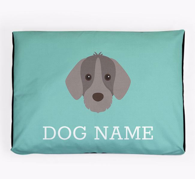 Personalised Icon Dog Bed for your Slovakian Rough Haired Pointer