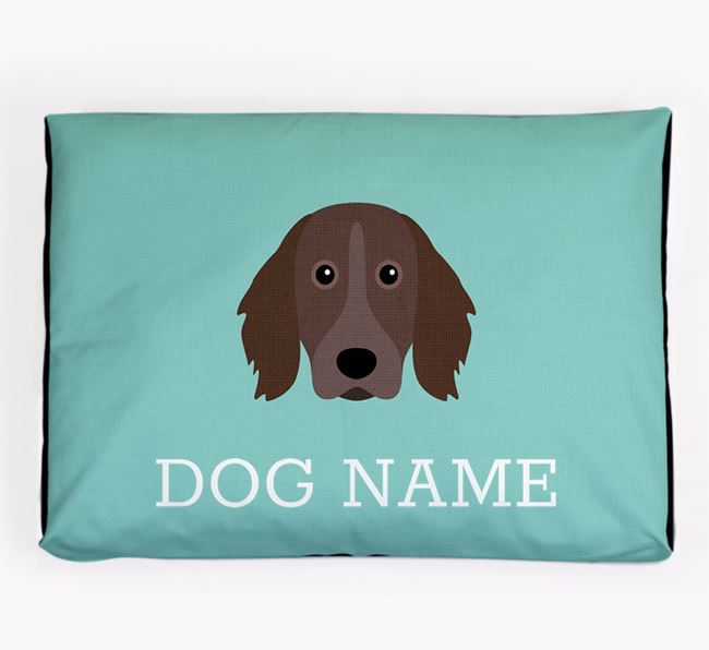 Personalised Icon Dog Bed for your Small Munsterlander