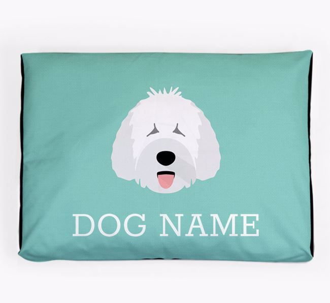 Personalised Icon Dog Bed for your Spanish Water Dog
