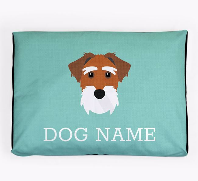 Personalised Icon Dog Bed for your Sporting Lucas Terrier