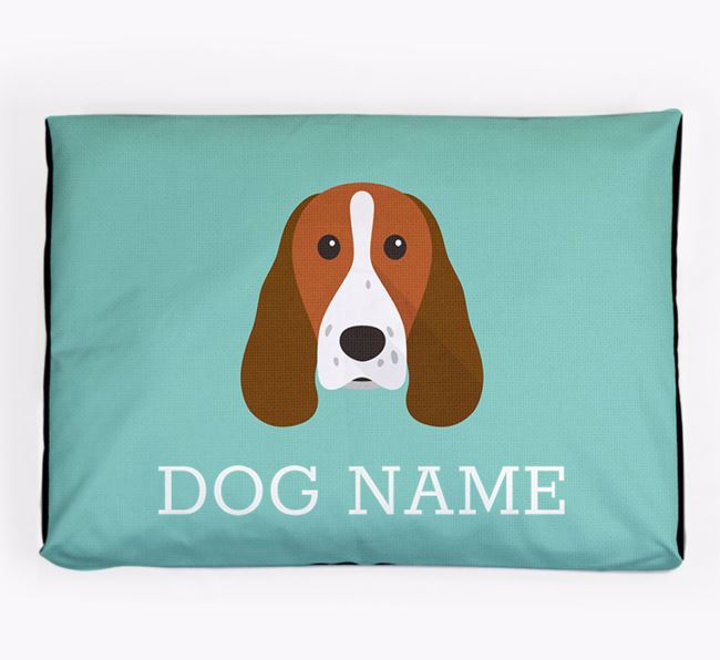 Personalised Icon Dog Bed for your Springer Spaniel