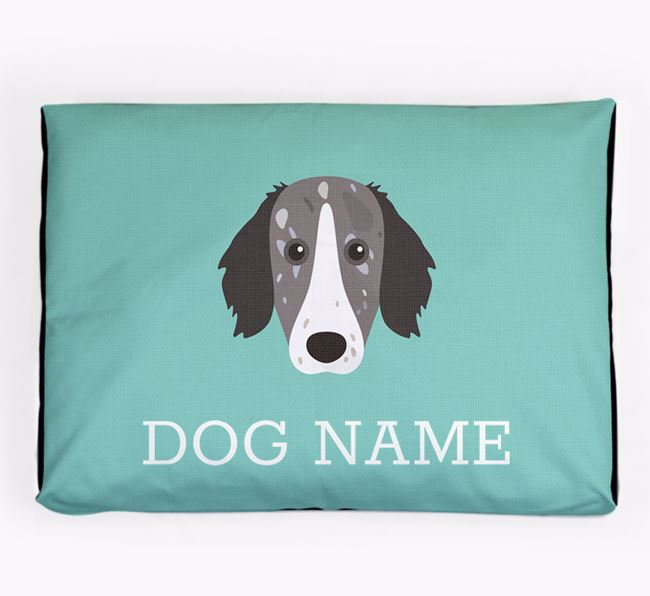 Personalised Icon Dog Bed for your Sprollie