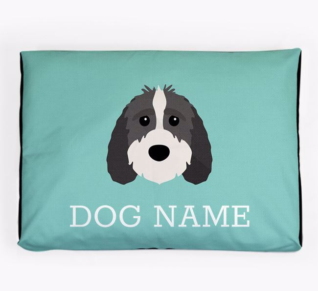 Personalised Icon Dog Bed for your Sproodle