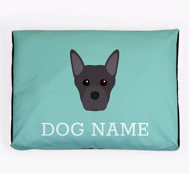 Personalised Icon Dog Bed for your Staffordshire Bull Terrier