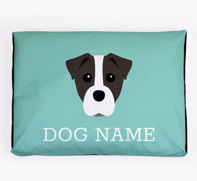 Personalised Icon Dog Bed for your Staffy Jack
