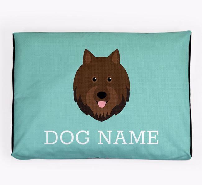 Personalised Icon Dog Bed for your Swedish Lapphund