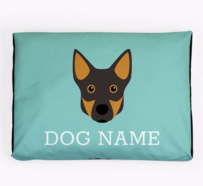 Personalised Icon Dog Bed for your Swedish Vallhund