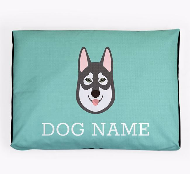 Personalised Icon Dog Bed for your Tamaskan