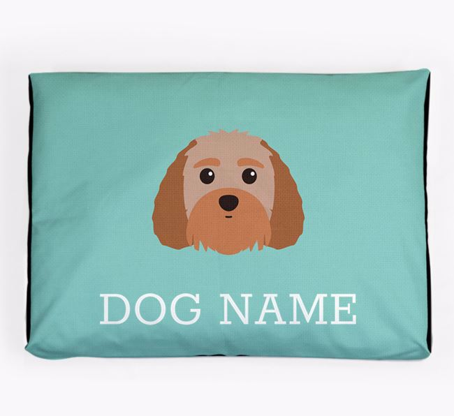 Personalised Icon Dog Bed for your Terri-Poo