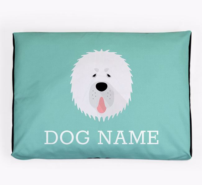Personalised Icon Dog Bed for your Tibetan Mastiff