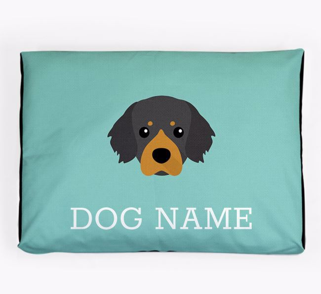 Personalised Icon Dog Bed for your Tibetan Spaniel