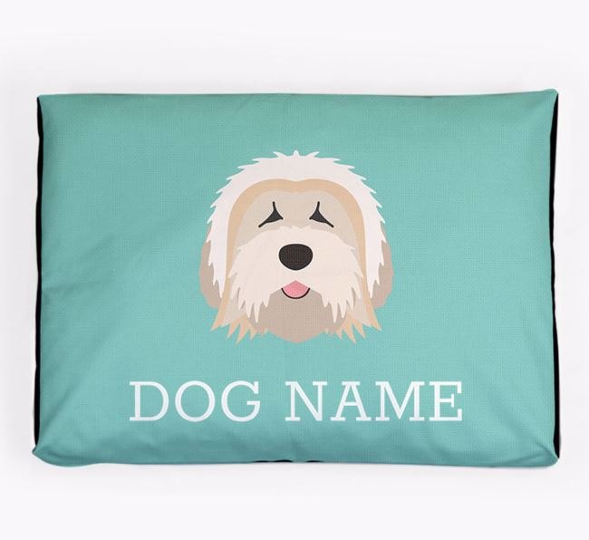 Personalised Icon Dog Bed for your Tibetan Terrier