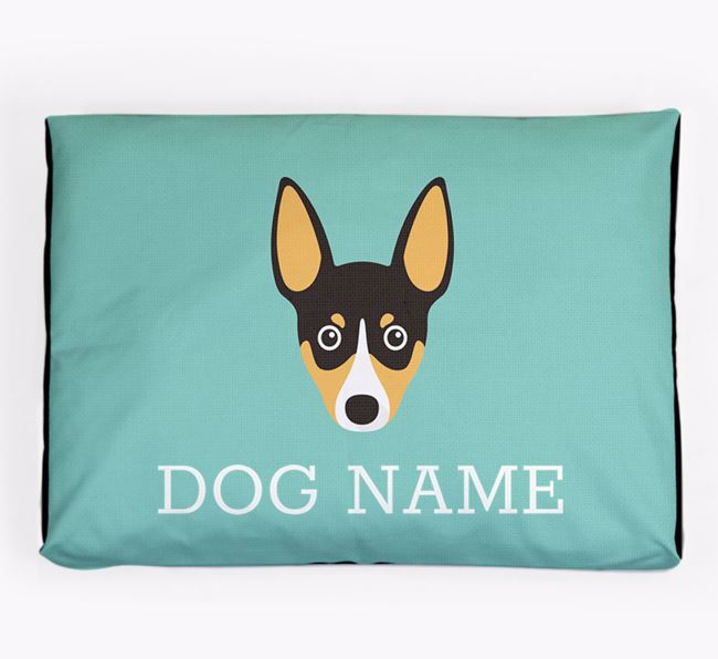 Personalised Icon Dog Bed for your Toy Fox Terrier