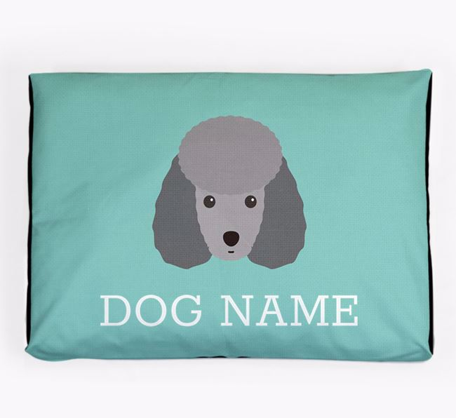 Personalised Icon Dog Bed for your Toy Poodle