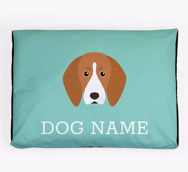 Personalised Icon Dog Bed for your Treeing Walker Coonhound