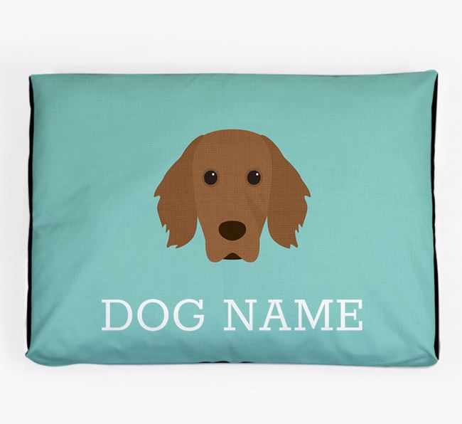 Personalised Icon Dog Bed for your Working Cocker Spaniel