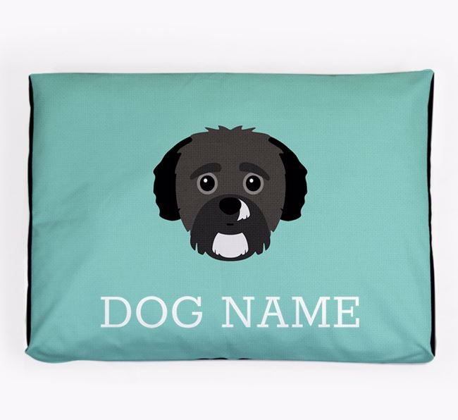 Personalised Icon Dog Bed for your Yorkipoo