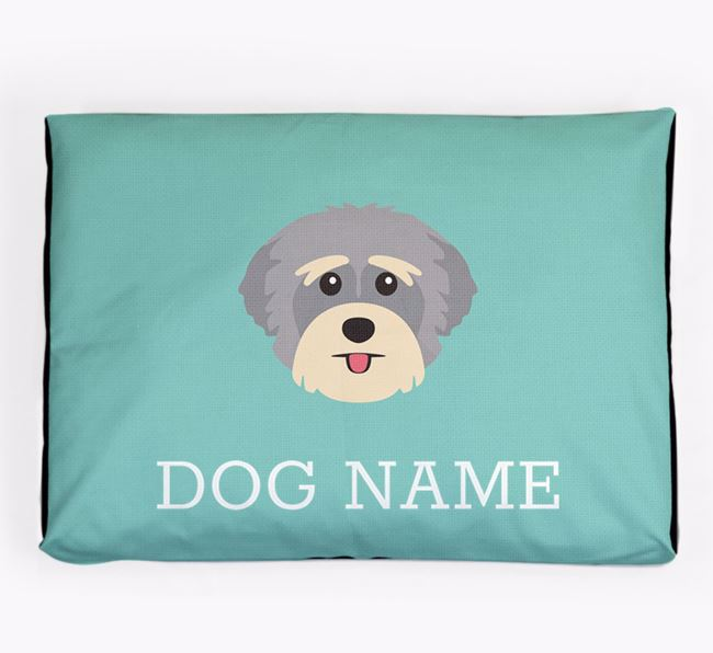Personalised Icon Dog Bed for your Yorkshire Terrier