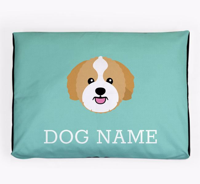 Personalised Icon Dog Bed for your Zuchon