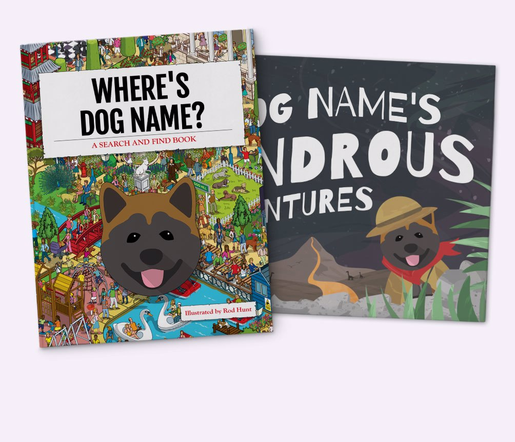 Personalised {dogsName} Books