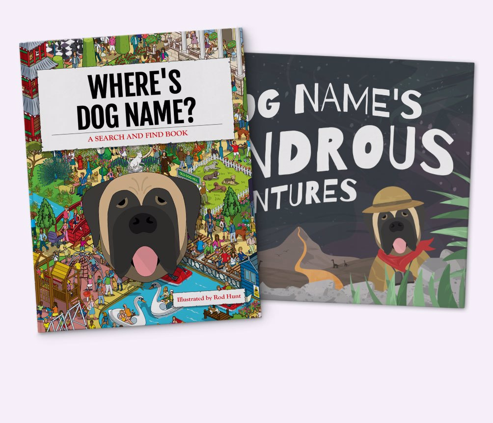 Personalised Dog Books