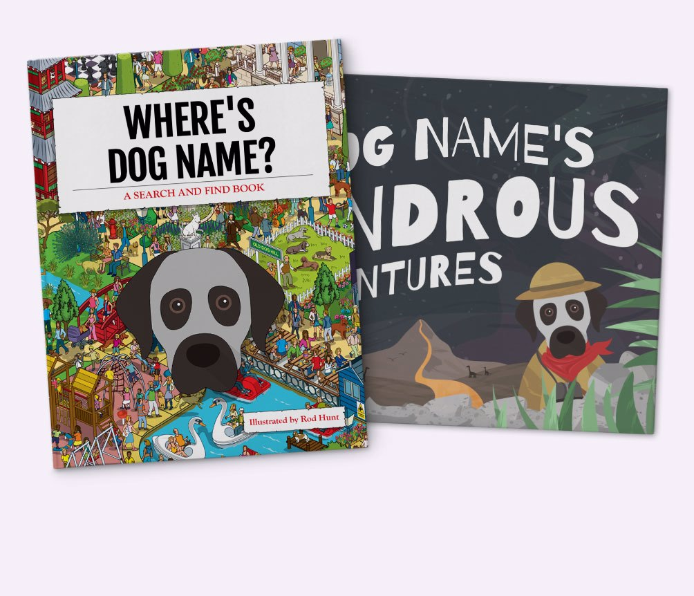 Personalized Dog Books