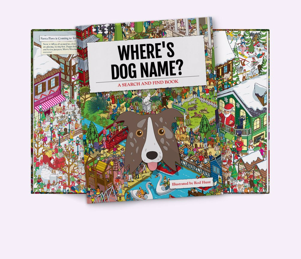 Personalised {dogsName} Book