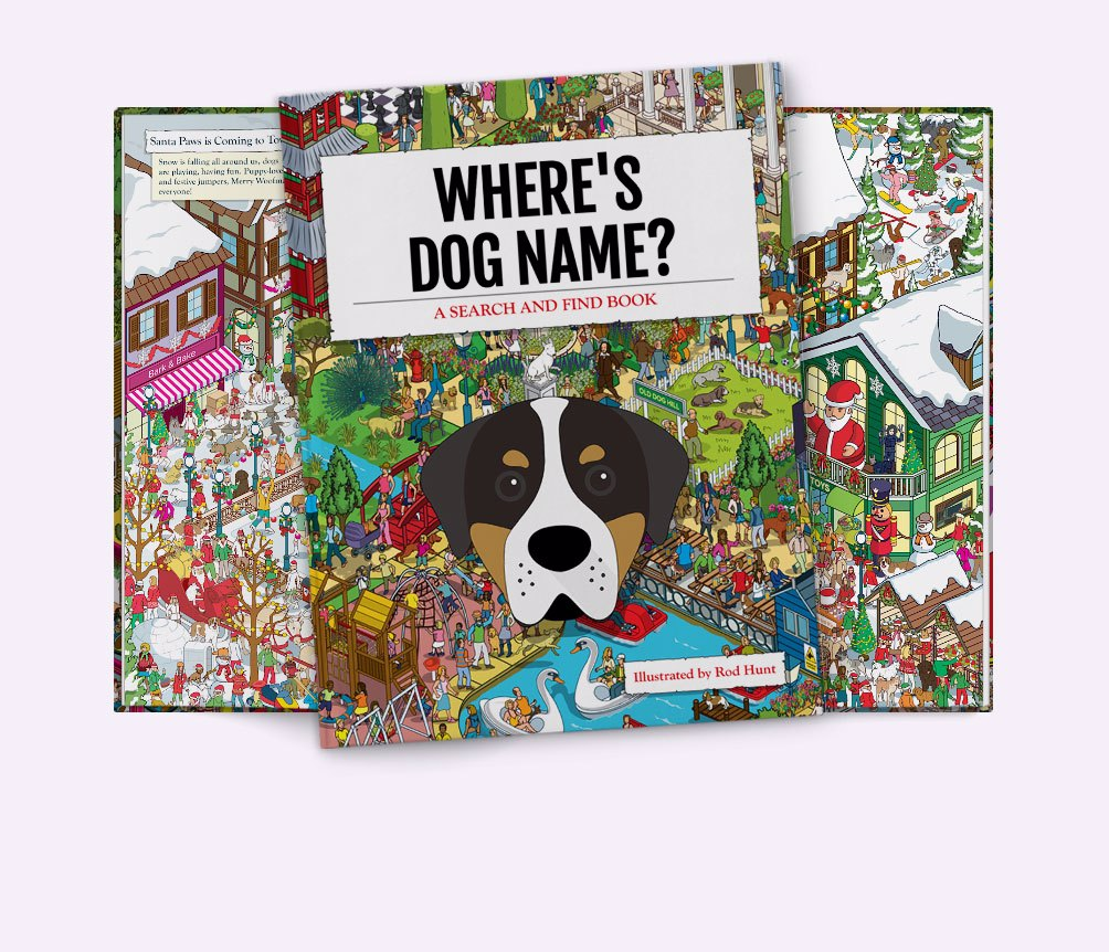 Personalized {dogsName} Book